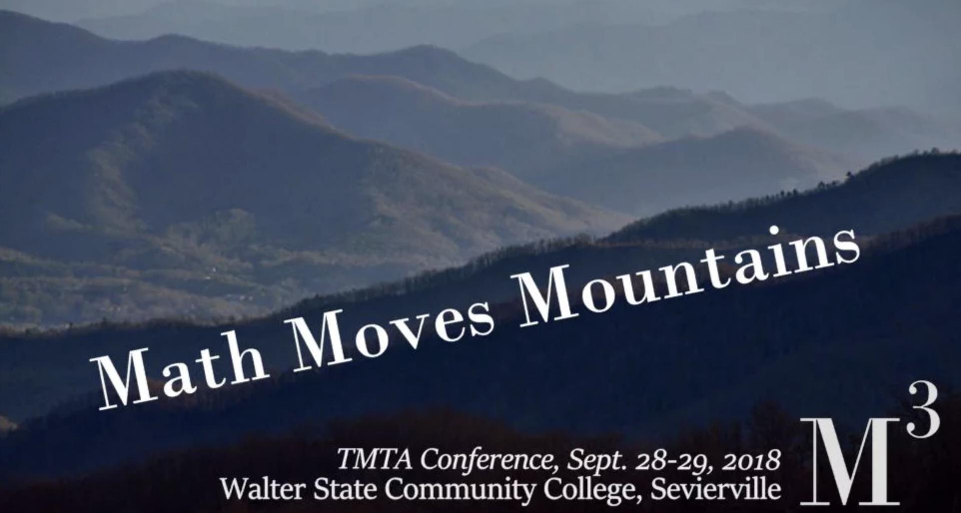 2018 TMTA Conference