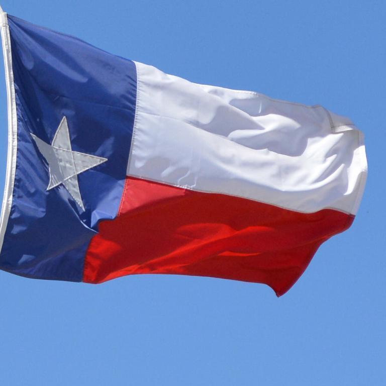 Texas Flag (square)