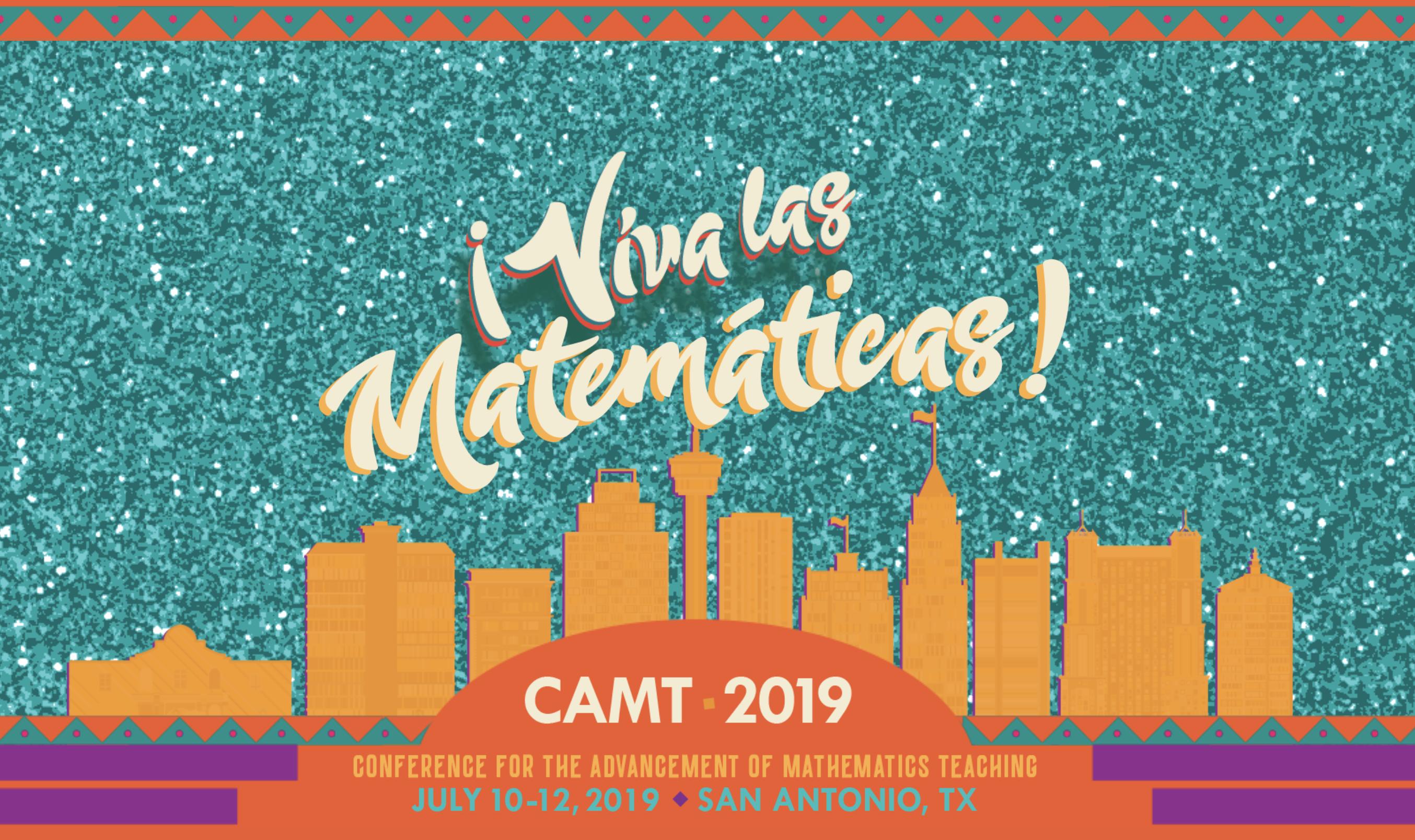 CAMT 2019 — Get More Math!