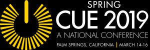 2019 CUE Spring Logo