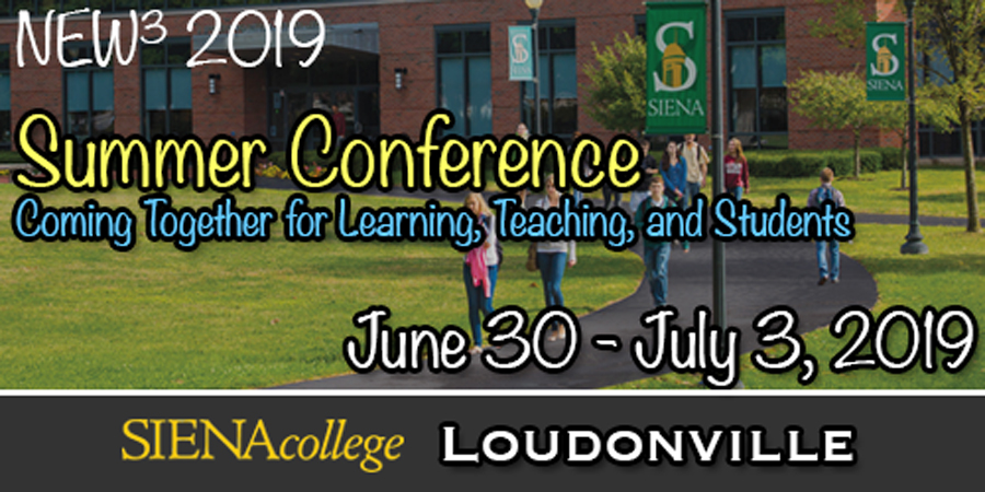 2019 New Cubed Summer Conference Logo