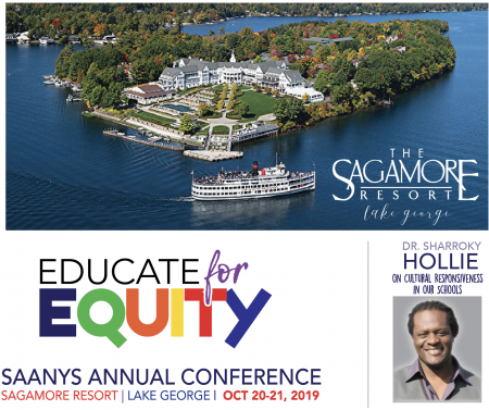 2019 SAANYS Annual Conference Logo