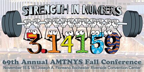 69th Annual AMTNYS Fall Conference 2019 Logo