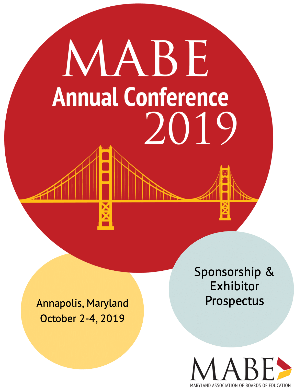 MABE Annual Conference 2019 Logo